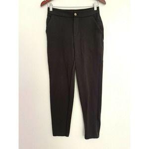 Lululemon City Trek Trouser II Pant Black Straight